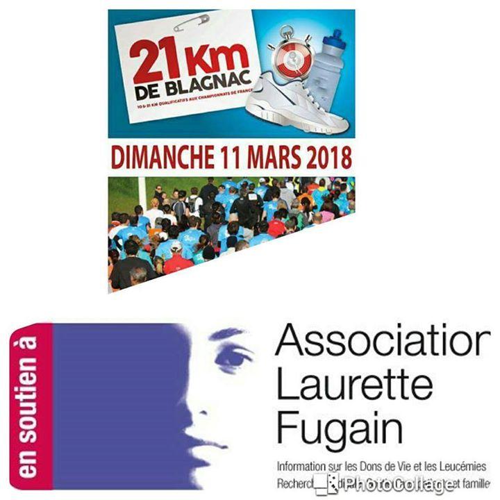 21 km de Blagnac Team Constance Pour Laurette Fugain