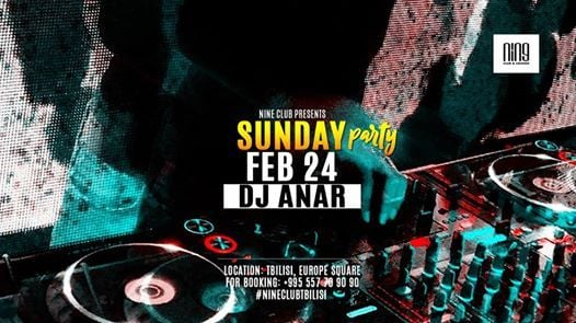 Sunday Party at NINE Club | Tbilisi