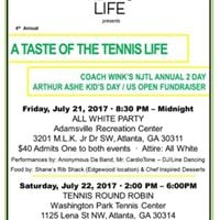 A Taste of the Tennis Life