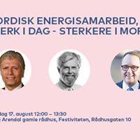 Nordisk energisamarbeid sterk i dag  sterkere i morgen