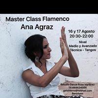 MASTER CLASS DE FLAMENCO