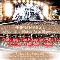 Hadrian live show case at Cargo