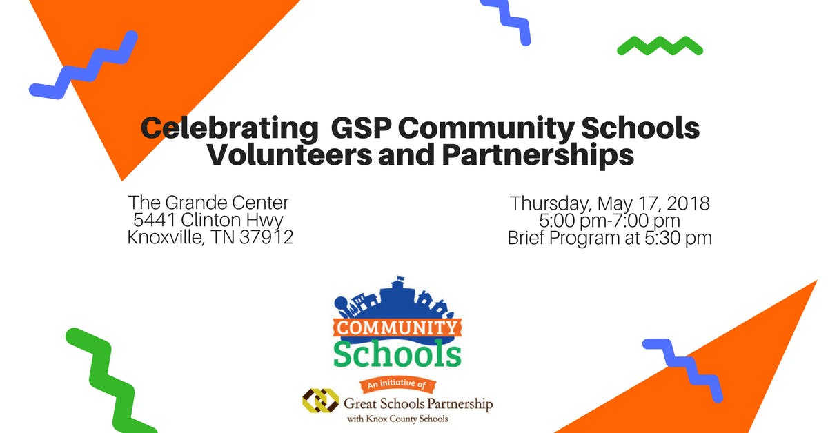Great Schools Partnership Community Schools Volunteer & Partner ...