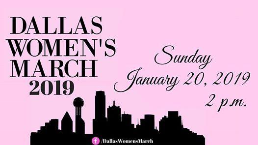 Dallas Womens March 2019