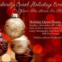 Holiday Open House &amp Tour