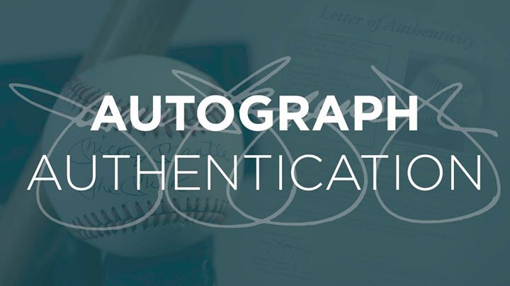 JSA Autograph Authentication at Brigandi Coins & Collectibles