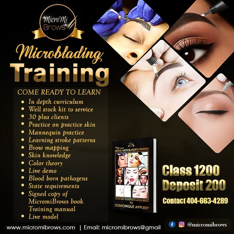 Micromibrows Microblading Training at 5304 Panola Industrial