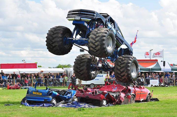 Monster Trucks at Shropshire County Show 2018