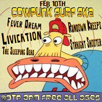 Cowpunk Surf Ska  Livication Rundown Kreeps  More Free Show