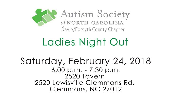 autism society of nc davie forsyth chapter ladies night out at 2520