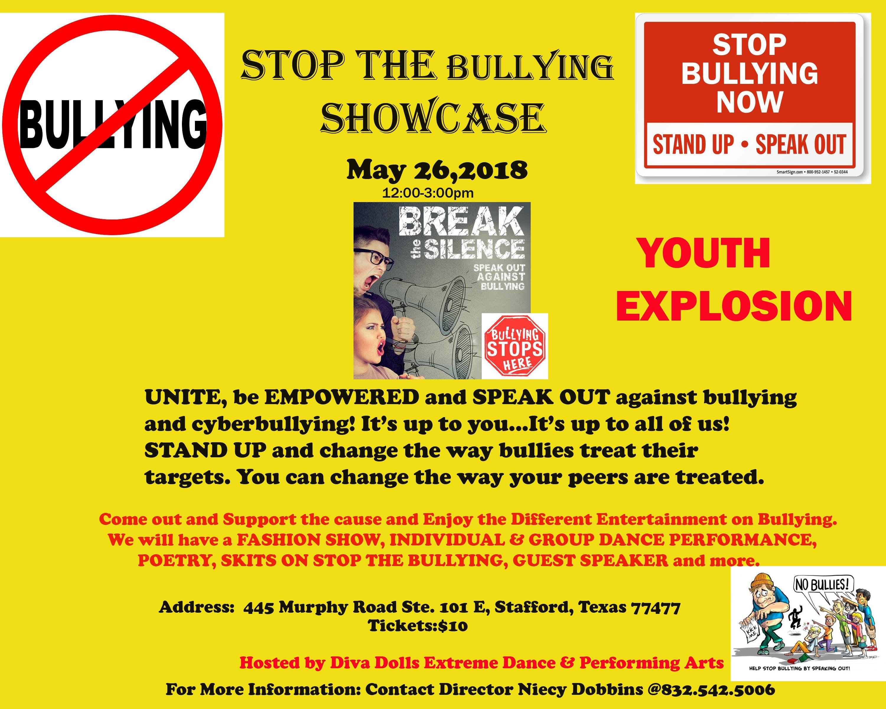 Stop the Bullying Showcase YOUTH EXPLOSION