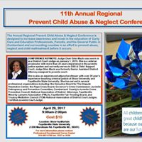 11th Annual Regional Prevent Child Abuse &amp Neglect Conference