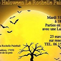 Soire Haloween La Rochelle Paintball