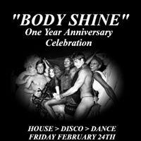 Body Shine One Year Anniversary