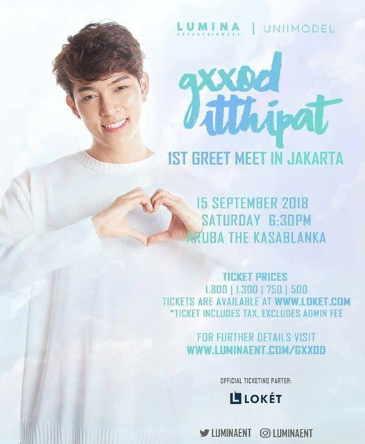Gxxod Itthipat 1st Greet Meet