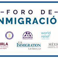 Foro de Inmigracion- septiembre 28