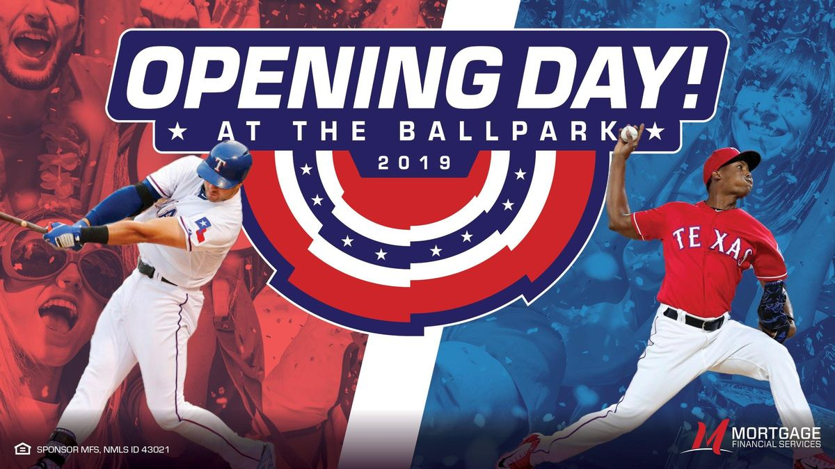 Rangers Opening Day Tailgate with MFS