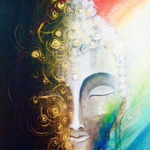ArtNight Buddha green am 30042019 in Unkategorisiert
