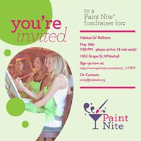 Paint Night Fundraiser For Habitat For Humanity Of The Lehigh Valley