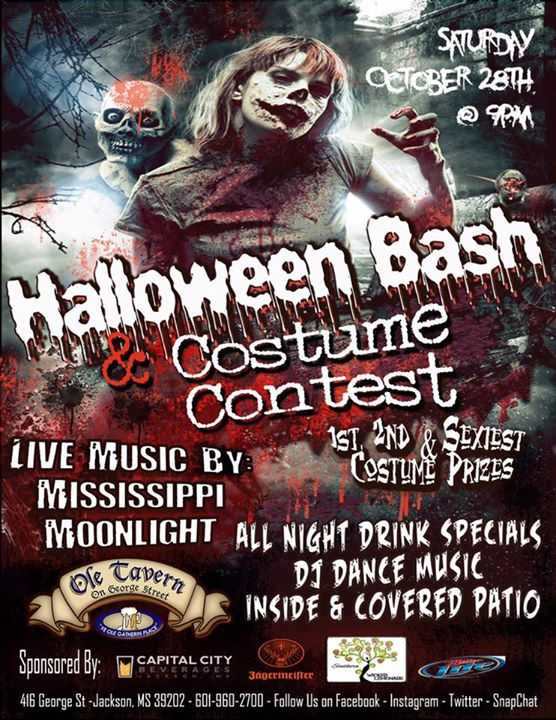 halloween bash costume contest