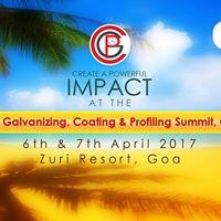 5th Galvanizing Coating &amp Profiling (GCP) Summit GOA