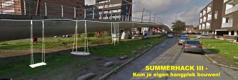 Summerhack III - bouw je eigen hangplek