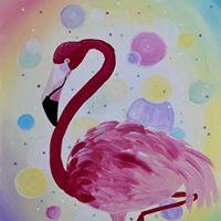Bubbly Flamingo