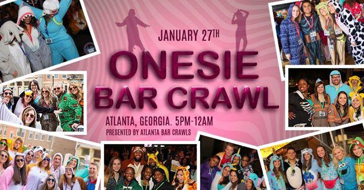 Onesie Bar Crawl - Atlanta