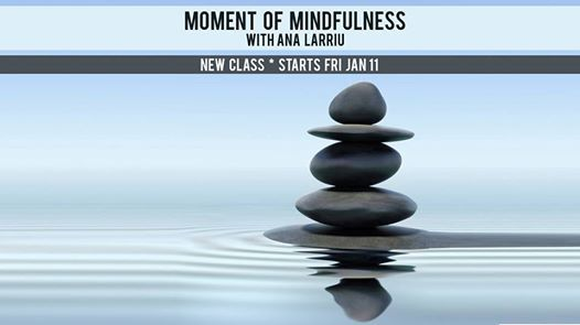 New CLASS Moment of Mindflulness with Ana Larriu