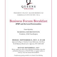 Business Forum Breakfast