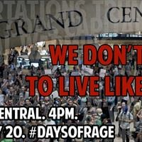 Rally against Trump and Capitalism DaysOfRage