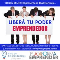 Liber TU PODER Emprendedor en Santiago del Estero