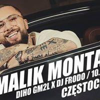 Najbardziej Prestiowa Impreza  Malik Montana w Czstochowie