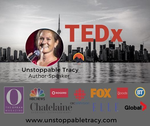 TEDxQueensU with UnstoppableTracy