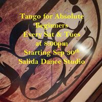 Argentine Tango (For Absolute Beginners)