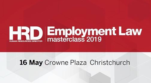 Employment Law Masterclass - Christchurch