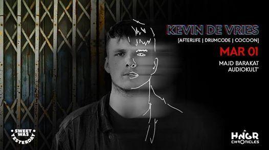 HNGR presents Kevin De Vries (Afterlife Drumcode)