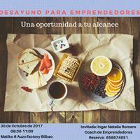Desayuno para emprendedores