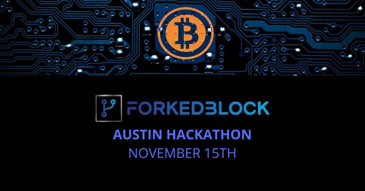 ForkedBlock Blockchain Hackathon - Austin