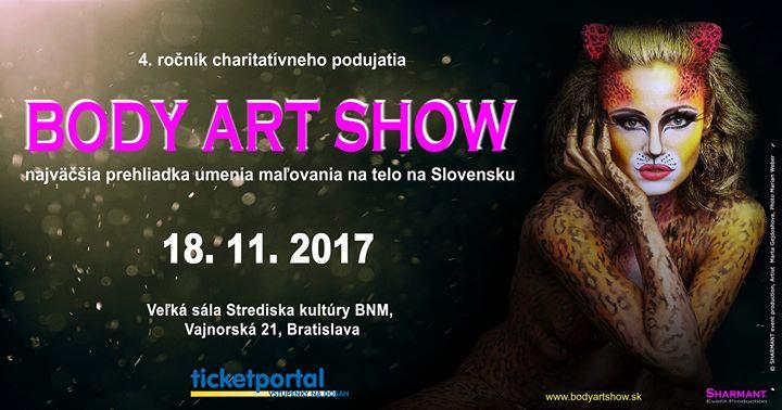 Body Art Show 2017 At Veľka Sala Strediska Kultury Bnm