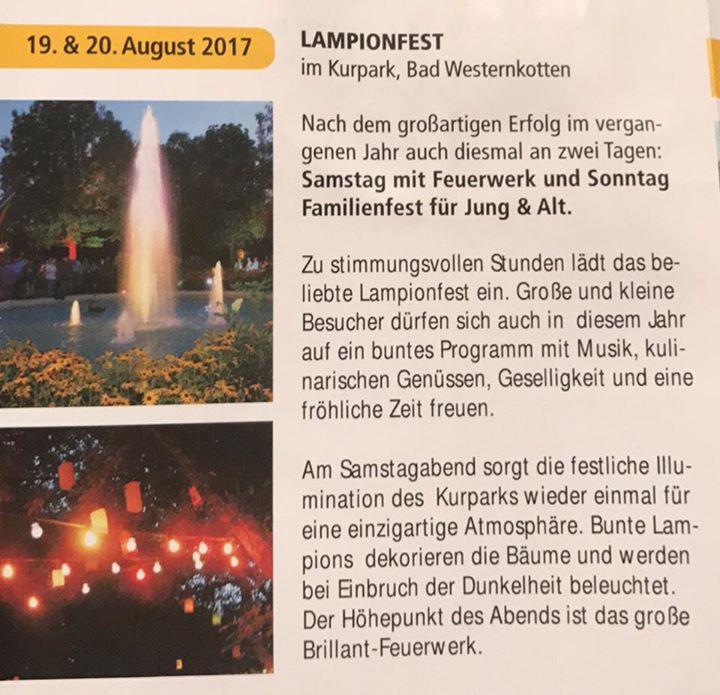 hamburg das kleine bad, lampionfest at kurpark bad westernkotten, erwitte, Design ideen