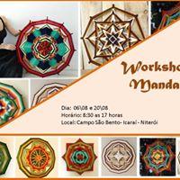 Workshop de mandalas em l