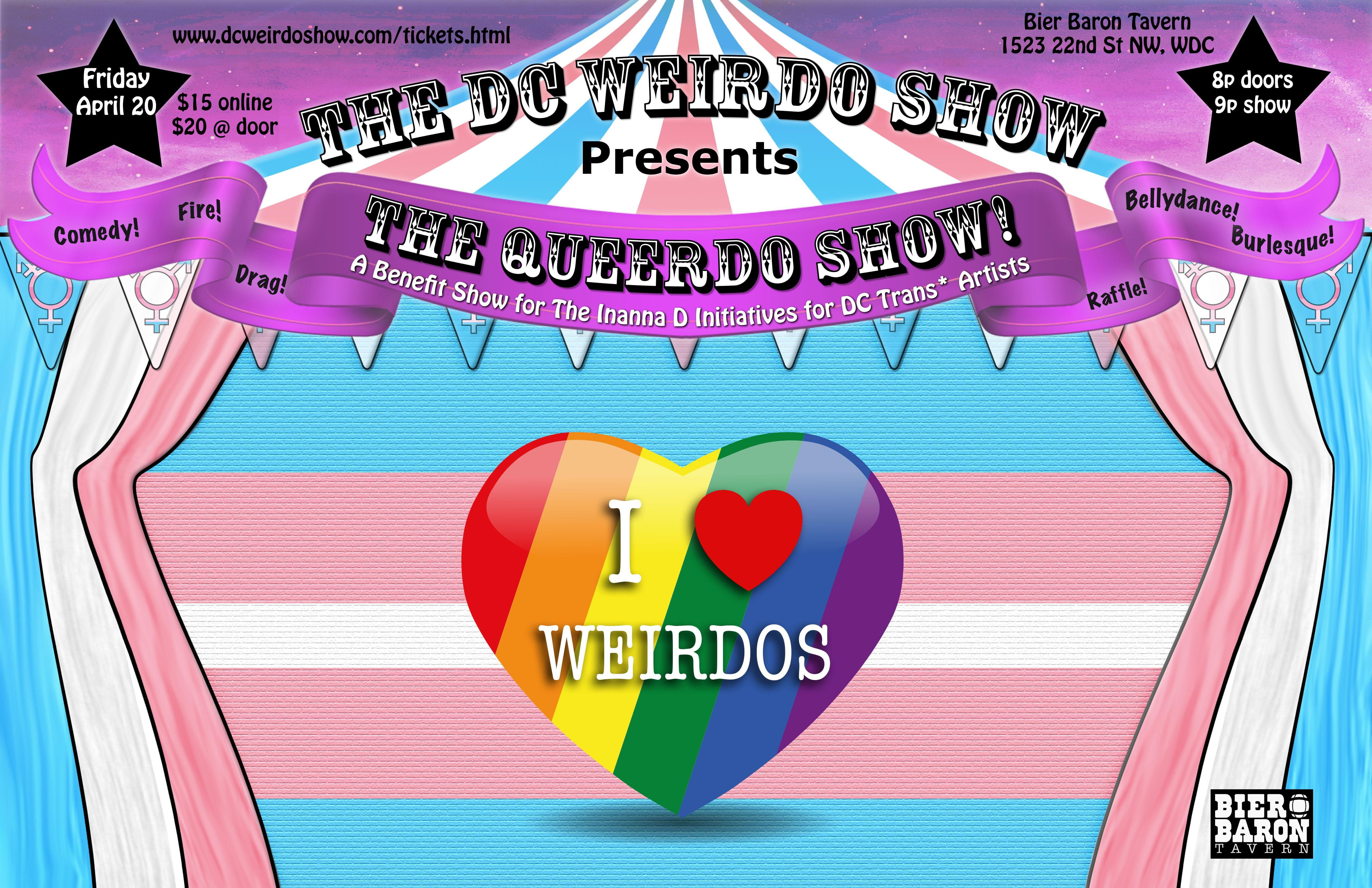 DC Weirdo Show Presents The QUEERDO Show