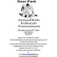 Deer Park Kids Folkstyle Tournament