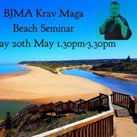 BJMA Krav Maga Beach Seminar