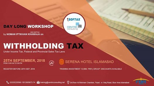 Workshop of Withholding Tax