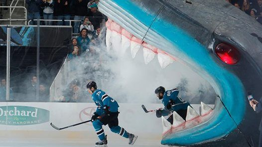 San Jose Sharks vs. Detroit Red Wings
