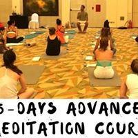 5 - Days Advance Meditation Course with Sumit Manav