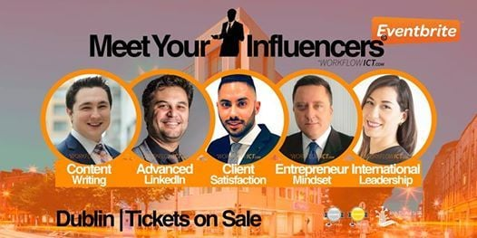 Meet Your Influencers Conferences by WorkFlow ICT - Second Edition