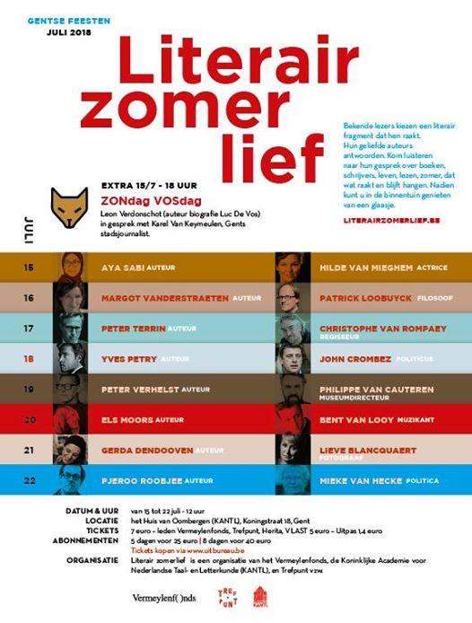 Literair Zomerlief Yves Petry - John Crombez